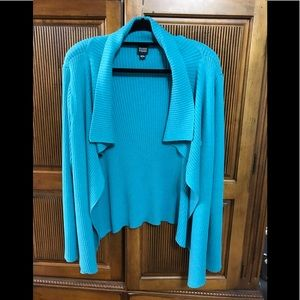 Eileen Fisher short cardigan size L